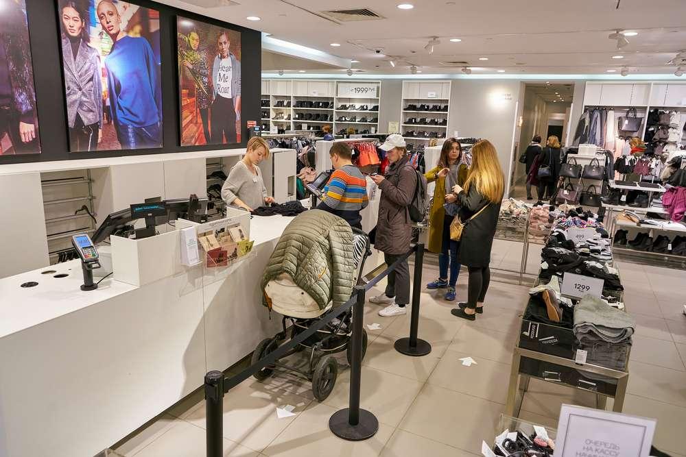 Автоматизация магазина одежды